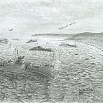 Высадка десанта на остров Шумшу