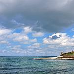 Sea and clouds