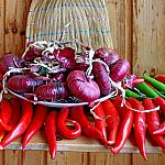 Still lifes with peppers_4