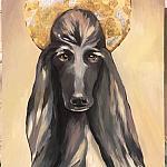GRLZ — Saint dog.