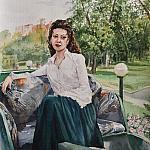 Женщина в бричке